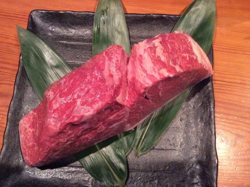 神戸牛炙り1