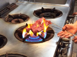 神戸牛炙り2
